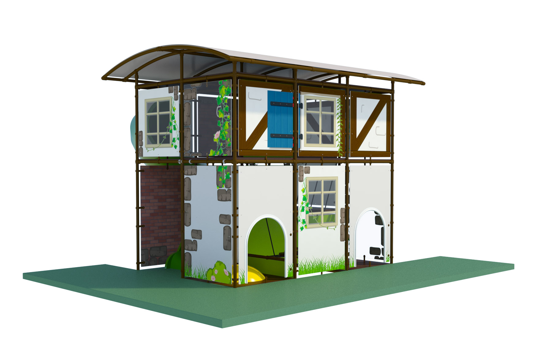 Modular play-structure outdoor